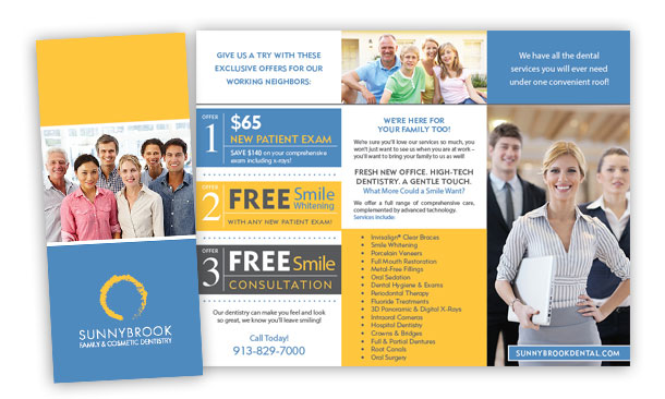 Dental Brochure Design | New Dental Patient Packet | Dental Marketing