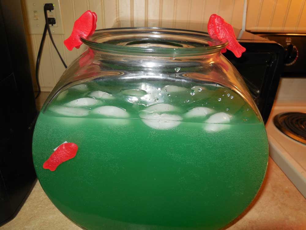 swedish fish martinis