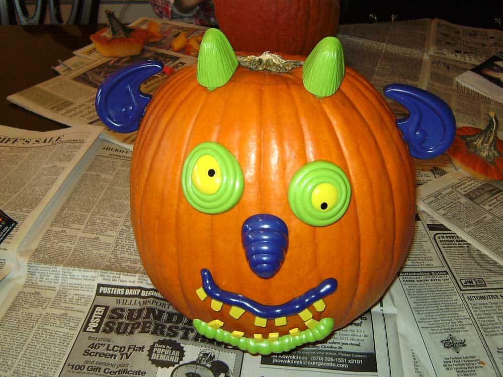 deranged pumpkin