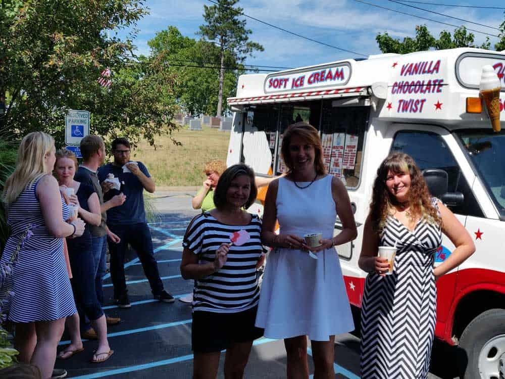 GPM team ice cream day