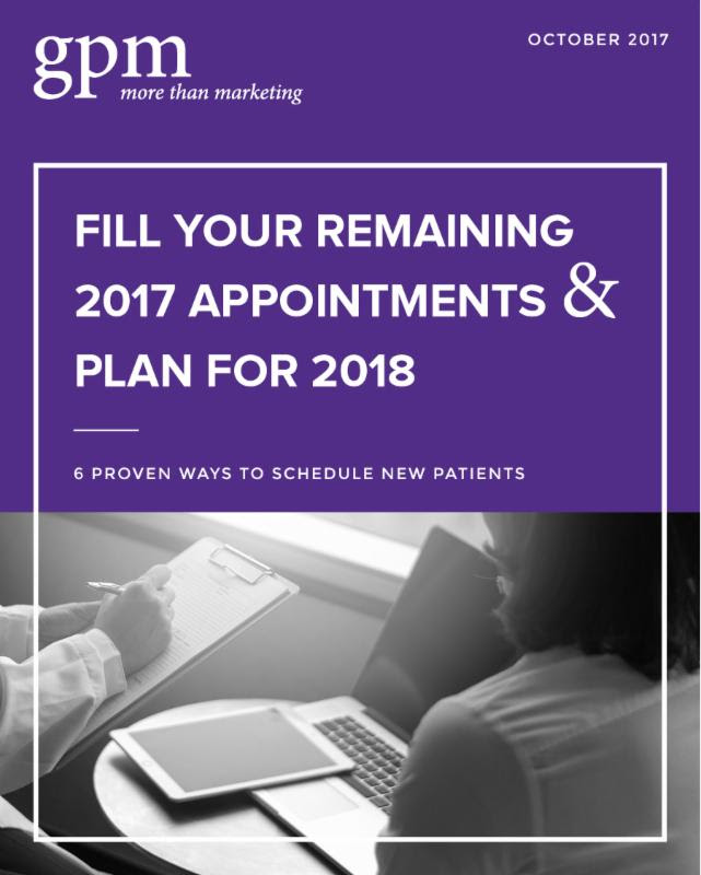 fill your remaining appointments