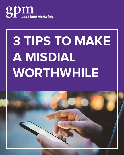 3 tips to make a misdial worthwhile