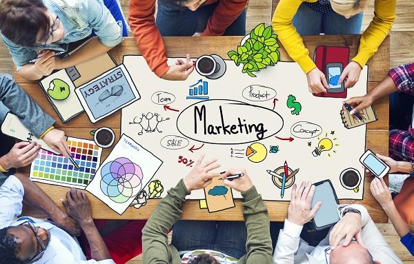 marketing concept graphic