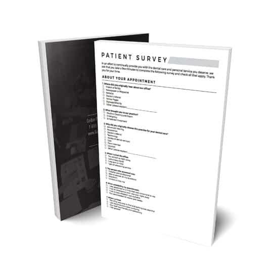 dental patient survey template for download