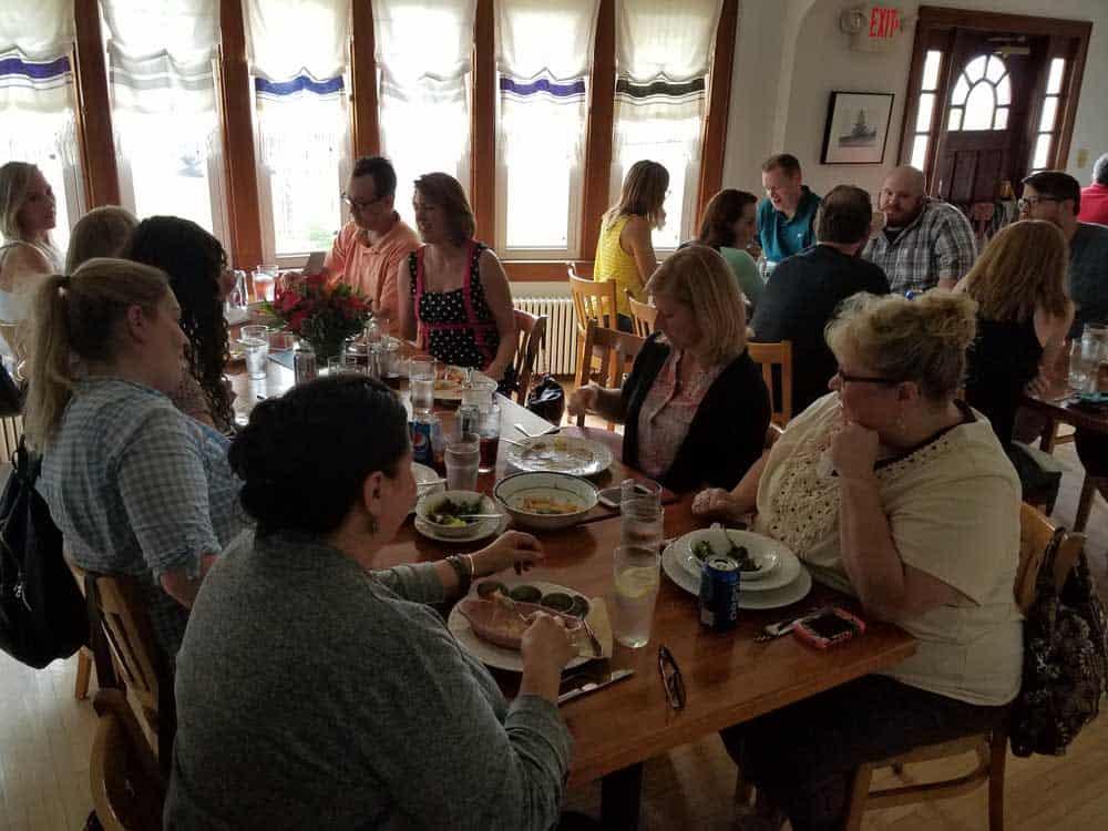 Lori's 15th anniversary lunch