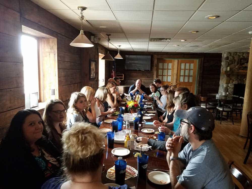 Lori's celebration lunch