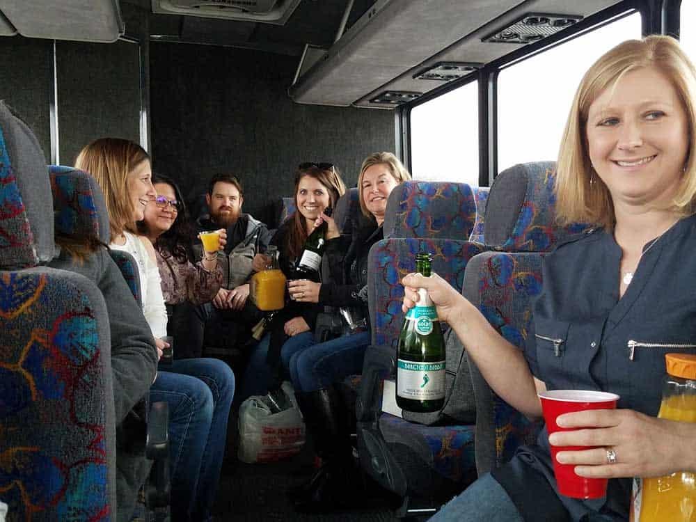 GPM team bus trip
