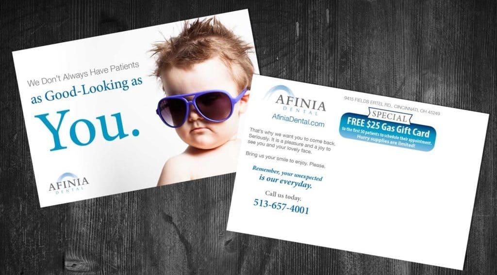 dental patient reactivation card