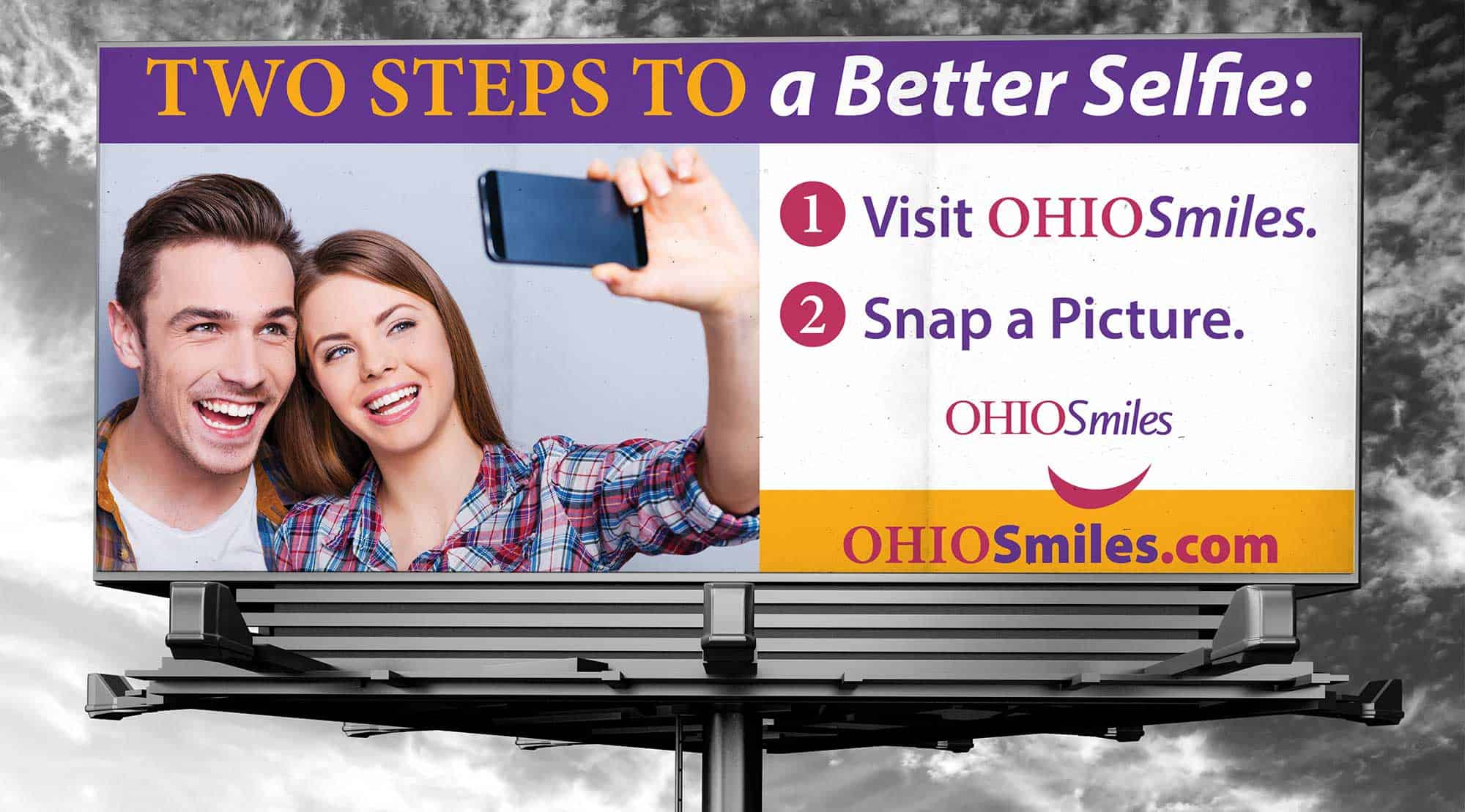 dental billboard ohio smiles