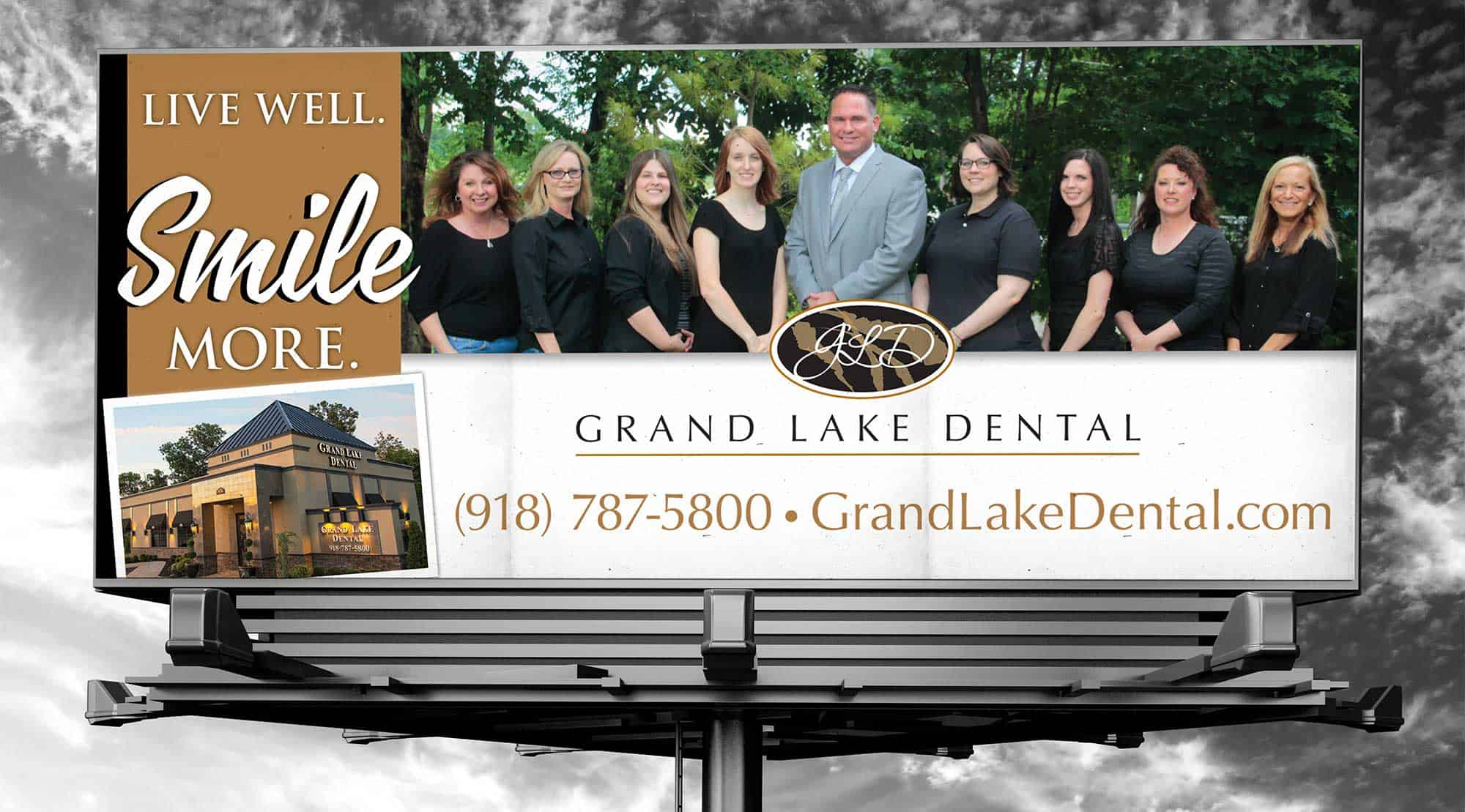 dental billboard example