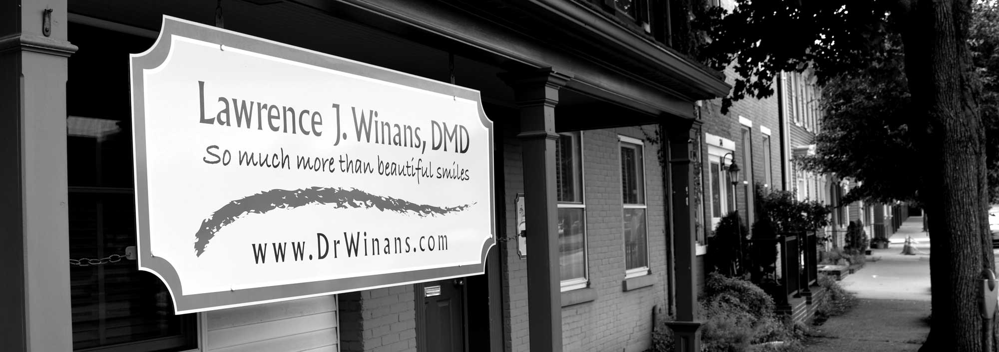 dental office sign winans