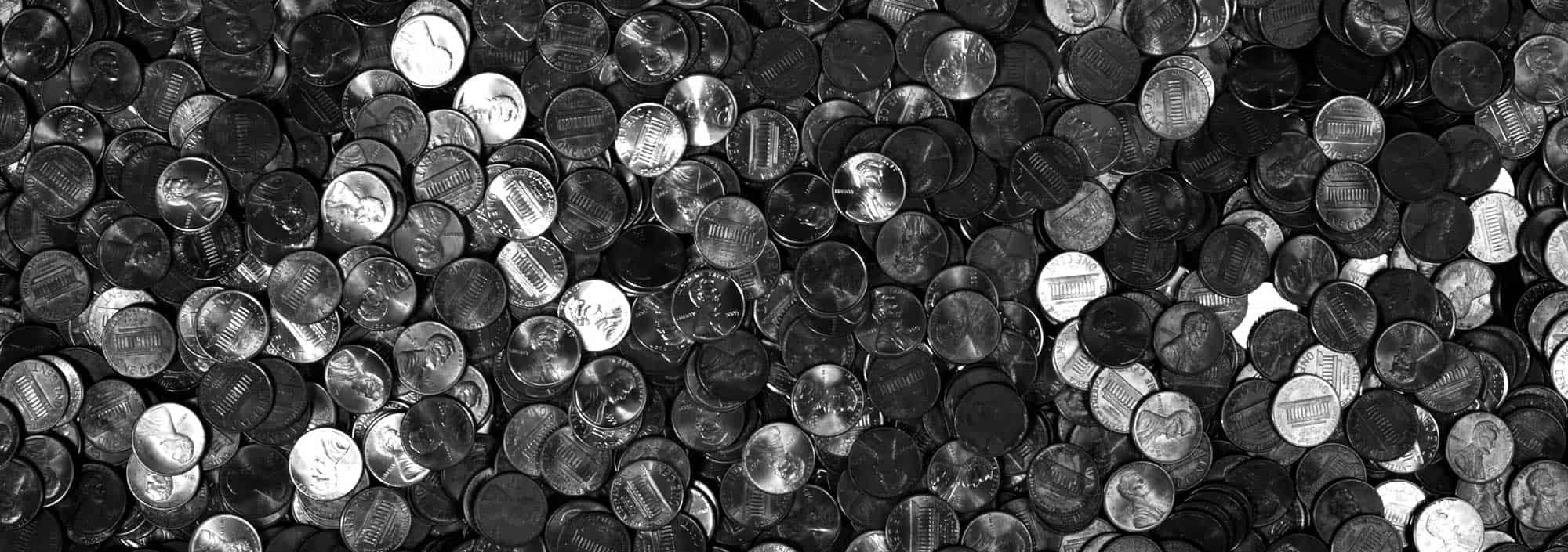 pennies pennies pennies