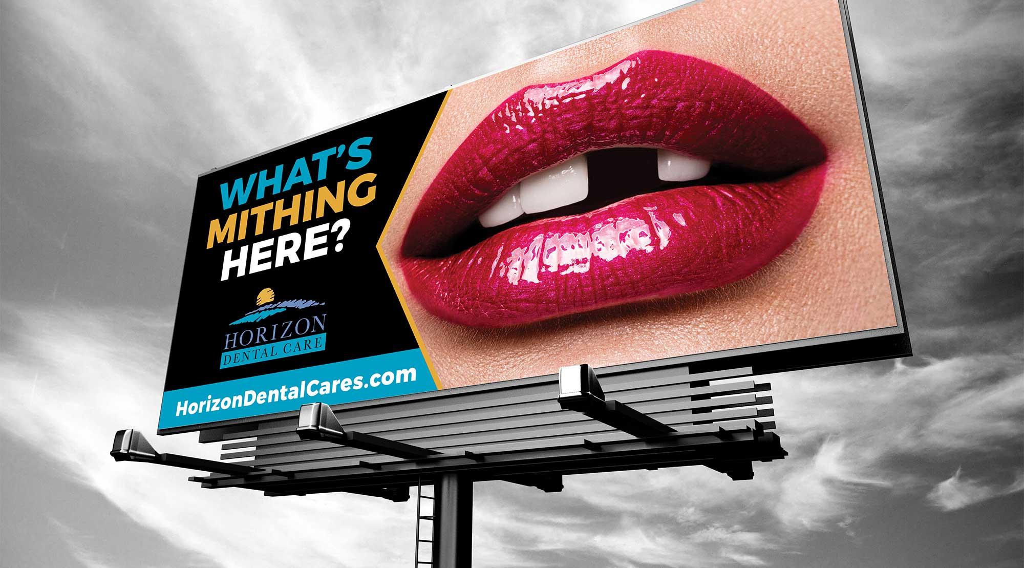 dental implant billboard