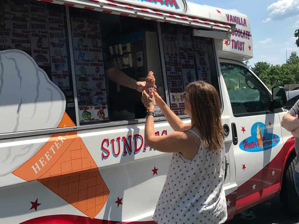 ice cream truck day