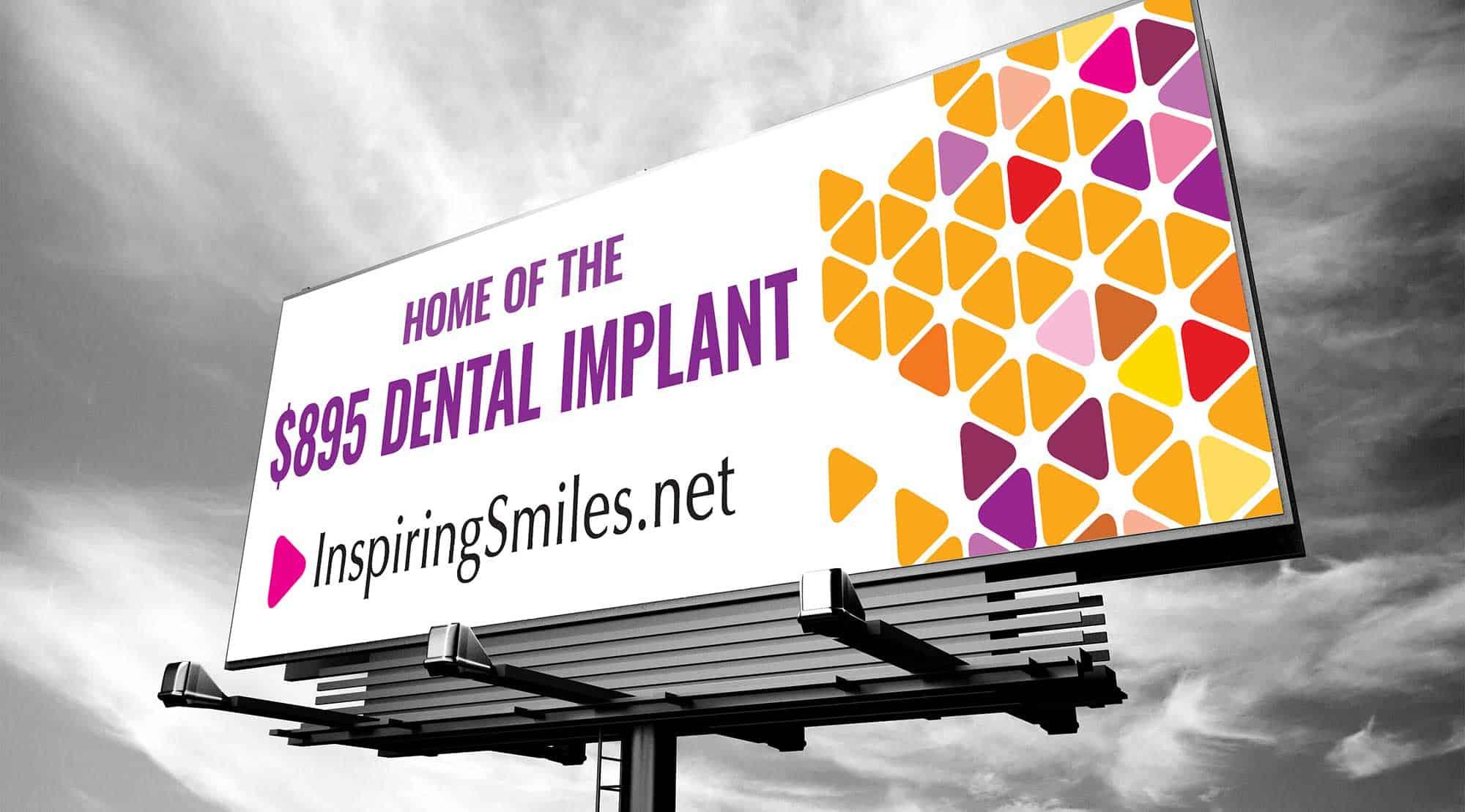 dental billboard dental implants