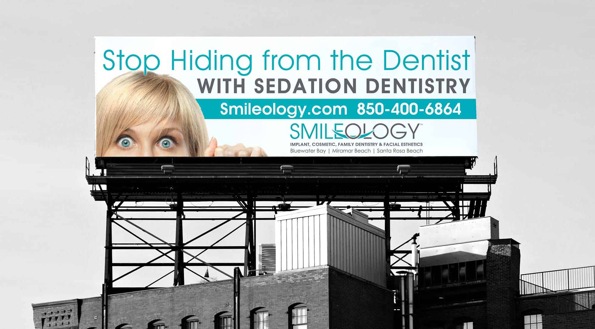 sedation dentistry billboard