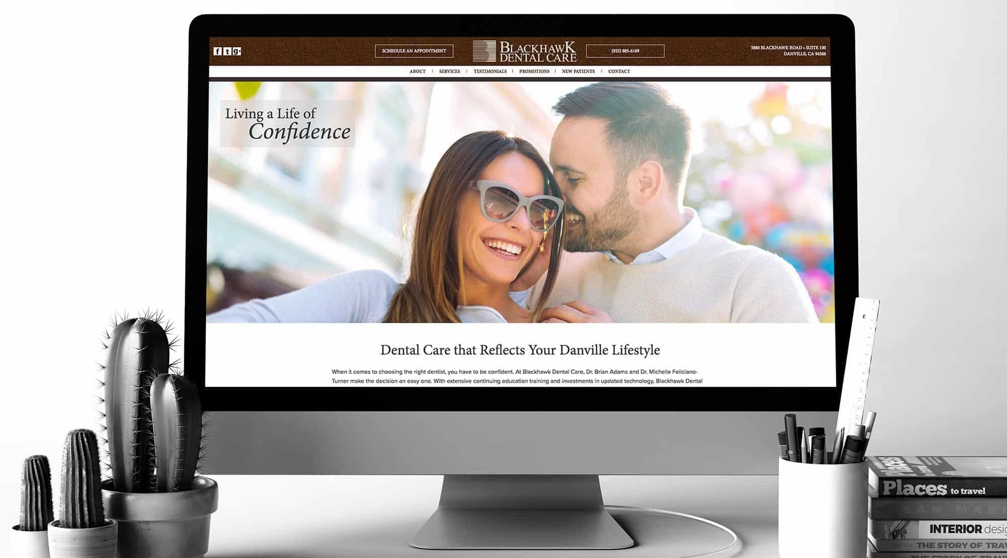 dental website blackhawk dental care