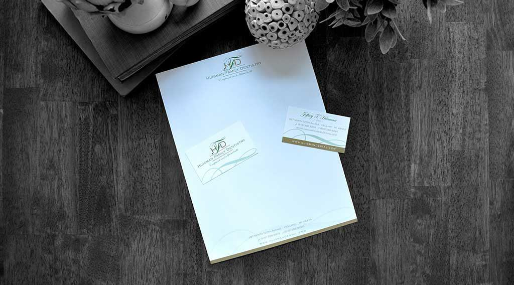 dental office letterhead Huisman
