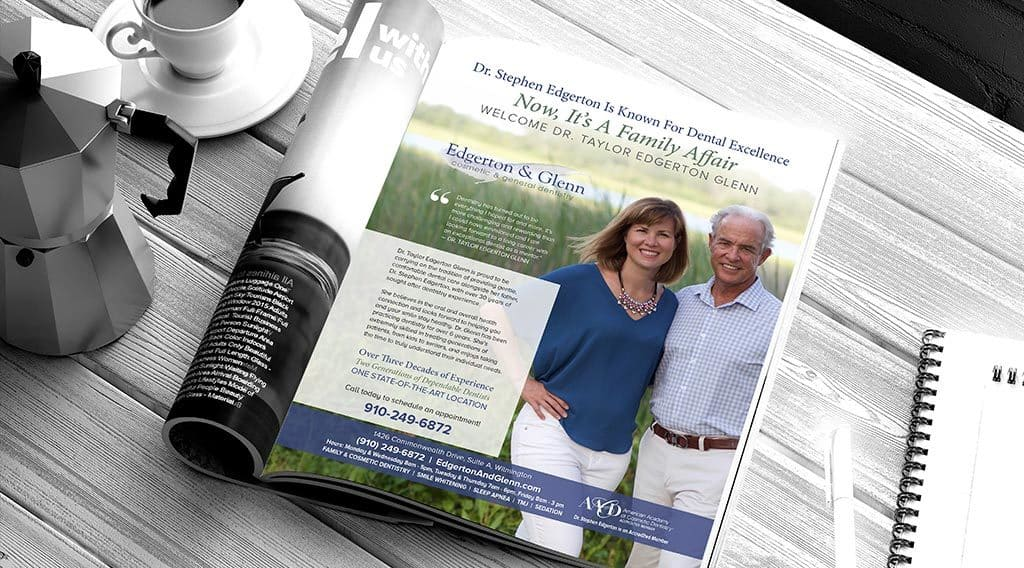 dental magazine ad