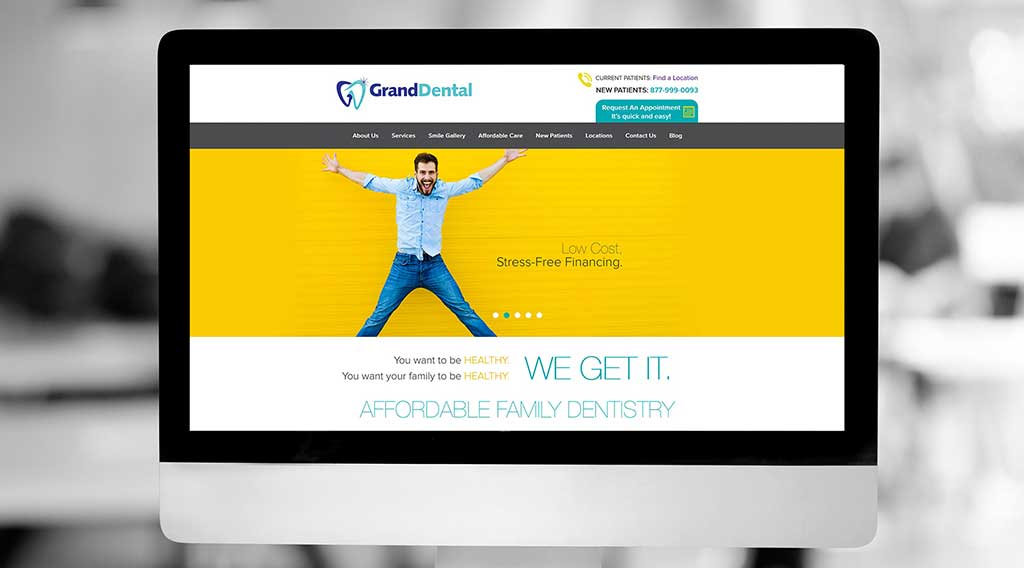 dental website Grand