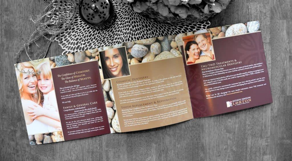 dental office brochure lorton