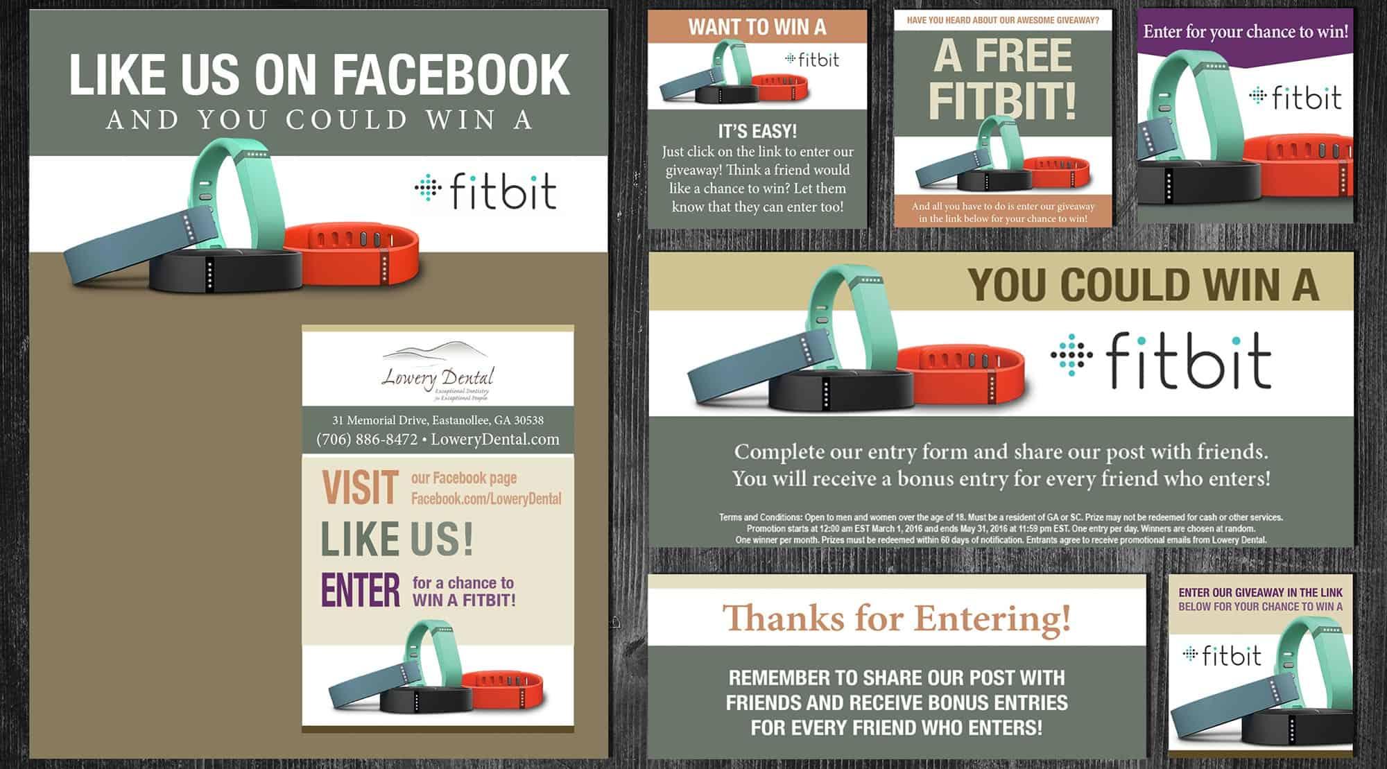 dental social media fan campaign