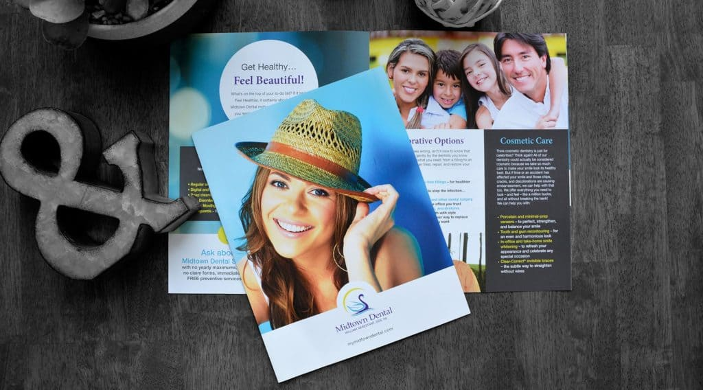 dental office brochure midtown