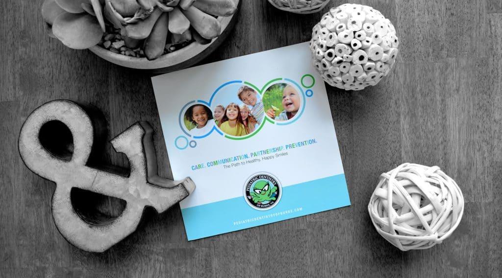 pediatric dental office brochure