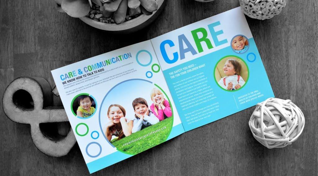 dental office brochure pediatric
