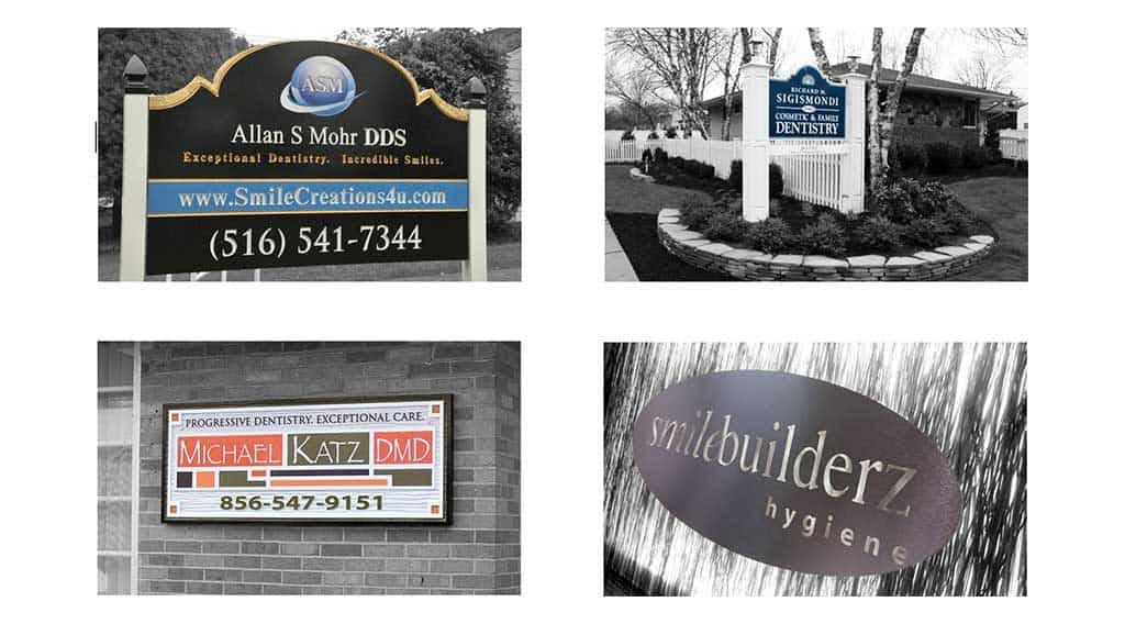 dental office sign examples