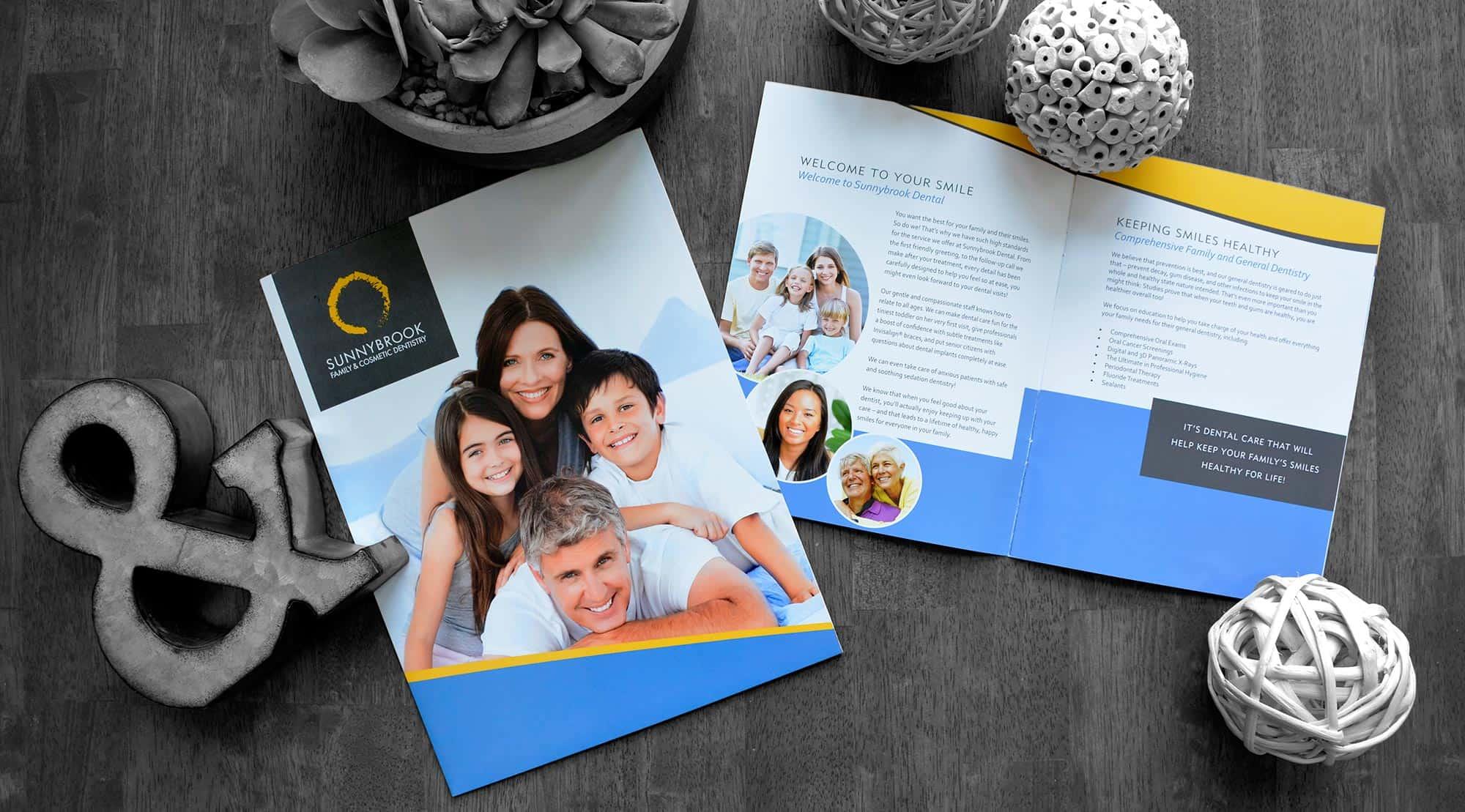 dental brochure sunnybrook