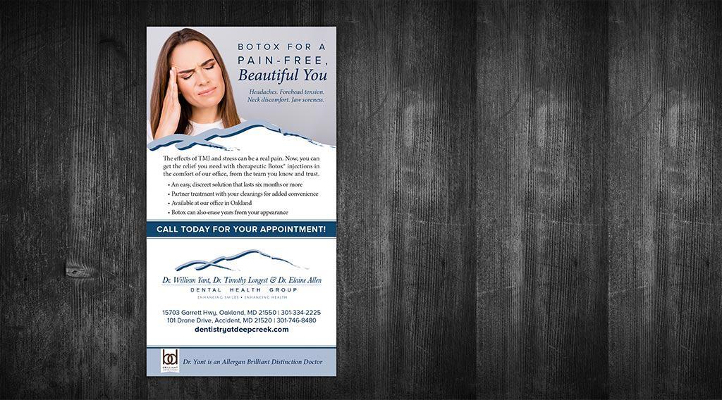 dental print ad
