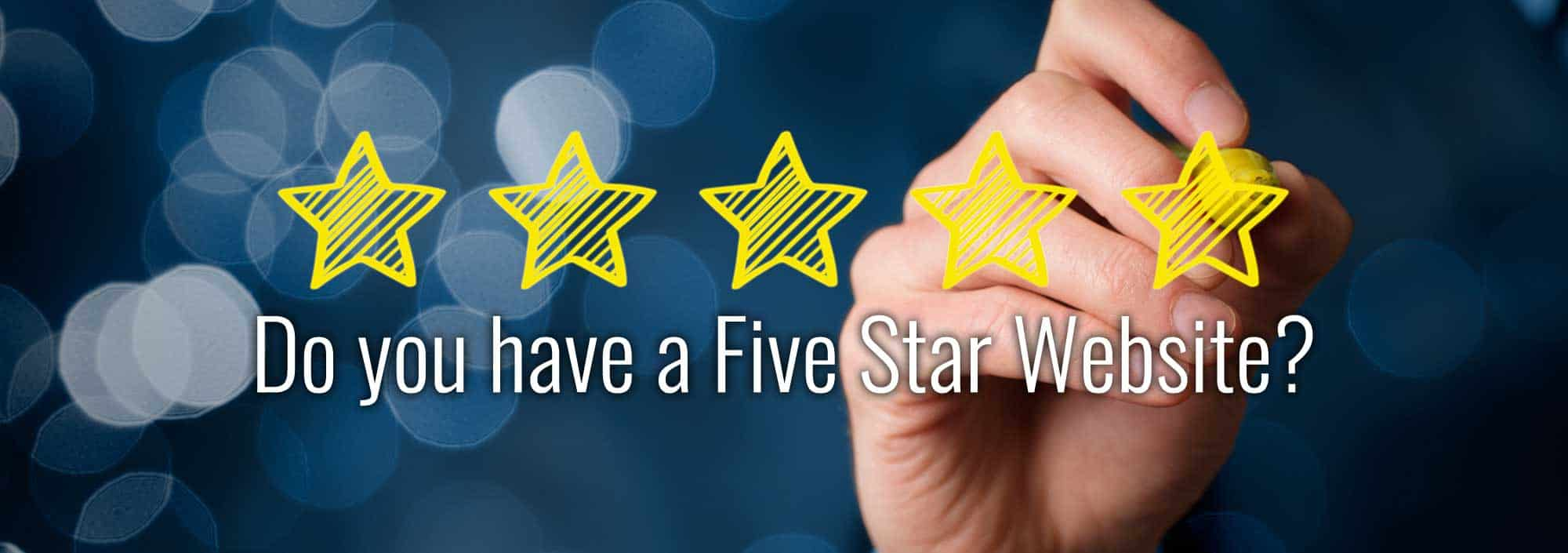 5 star dental website