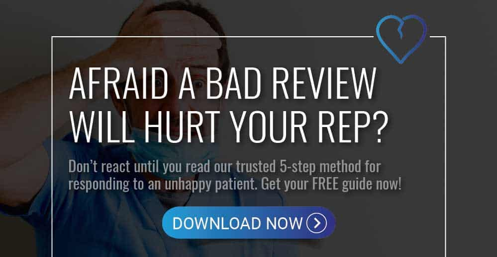 dental review guide for bad reviews