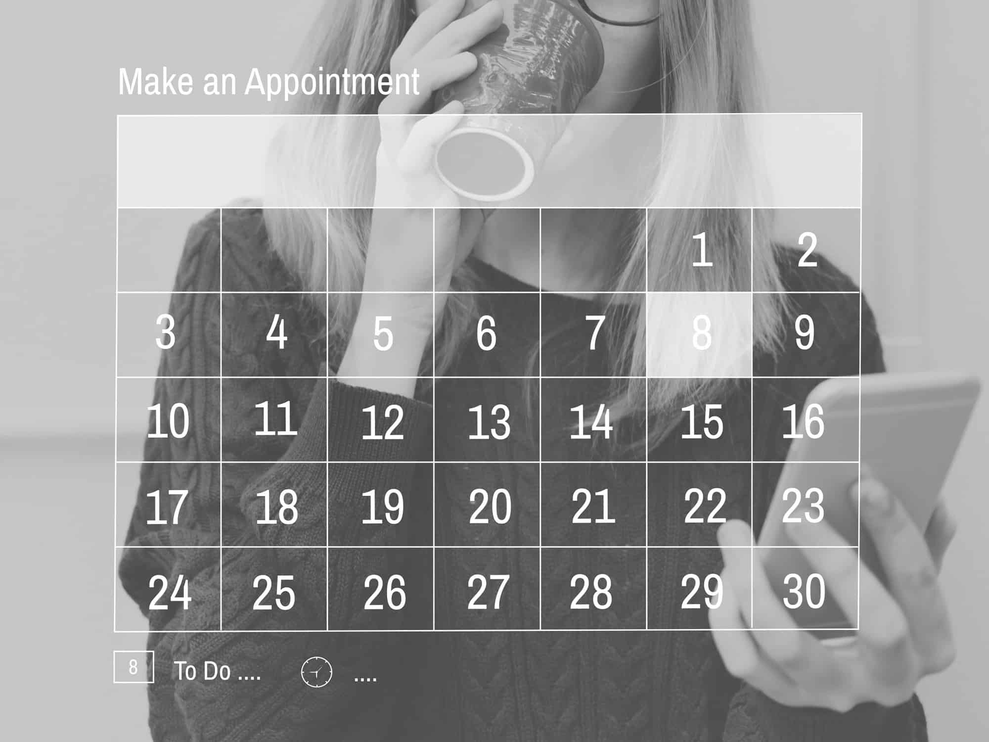 calendar for appointments
