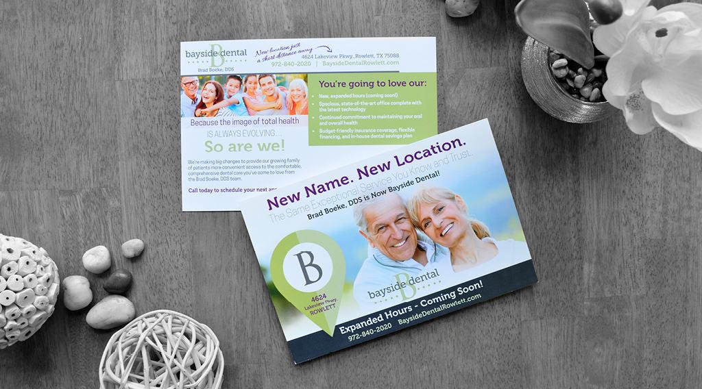 dental postcard for new location