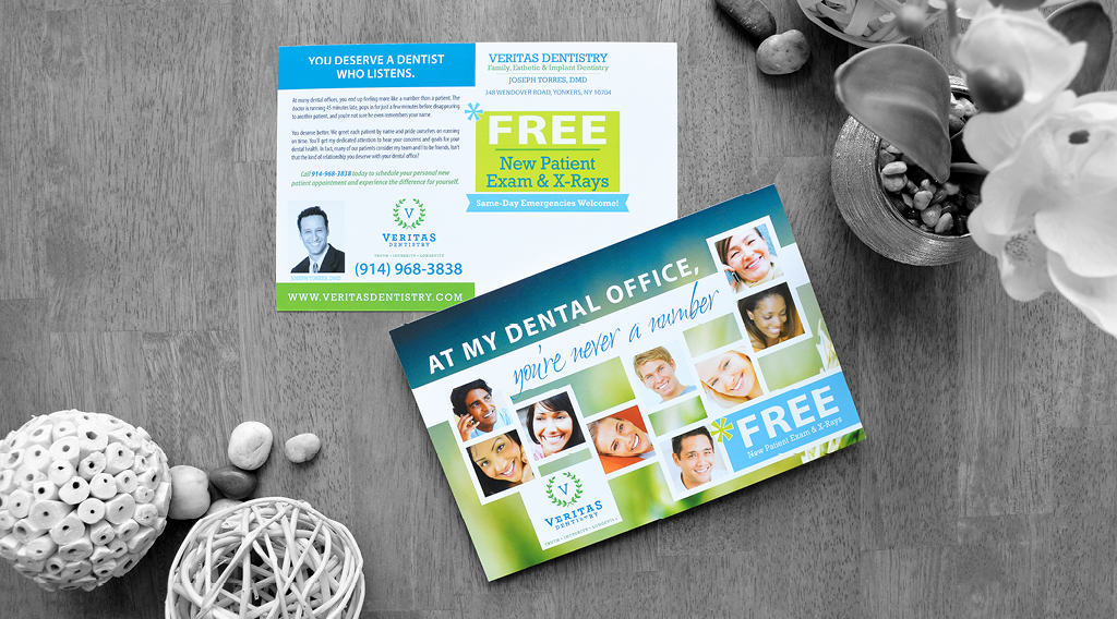 dental office postcard sample