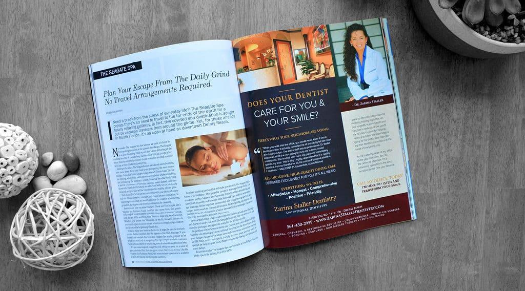 Staller Dentistry Print Ad