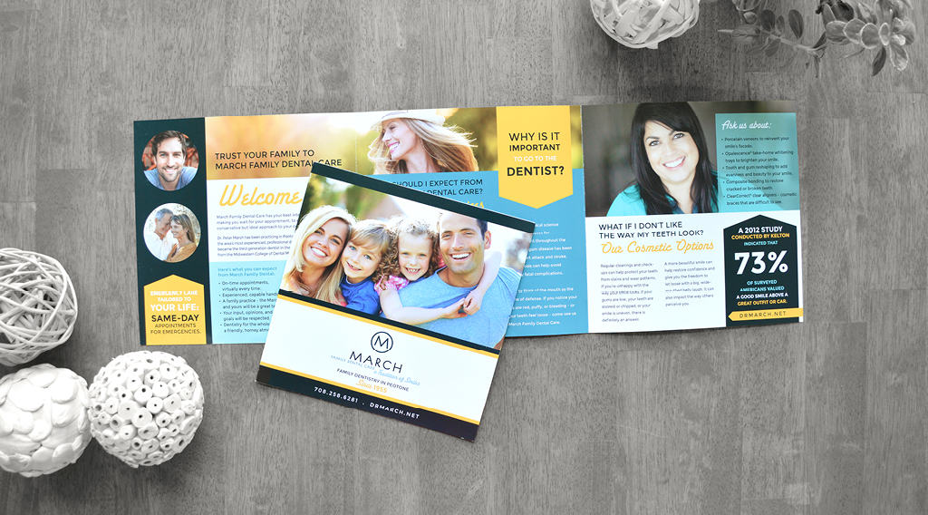 March family dentistry brochure