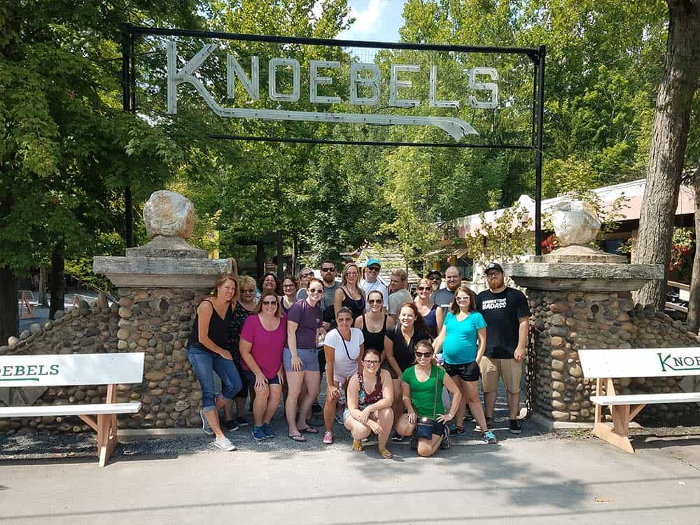 GP team at Knoebels 2017