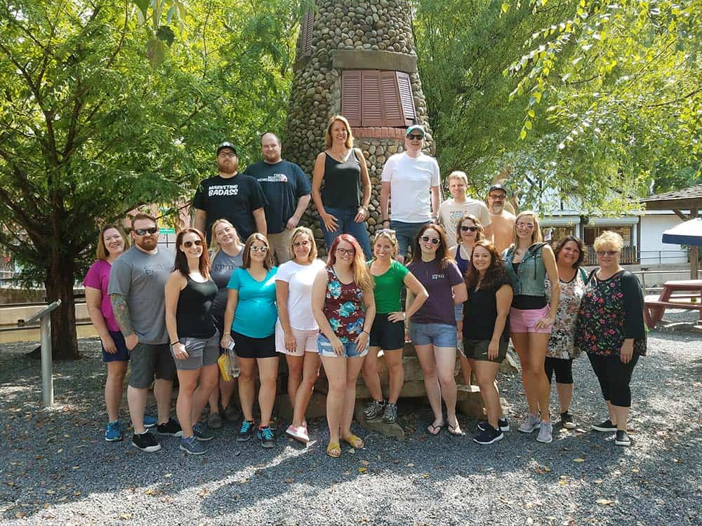 GPM team at Knoebels 2018