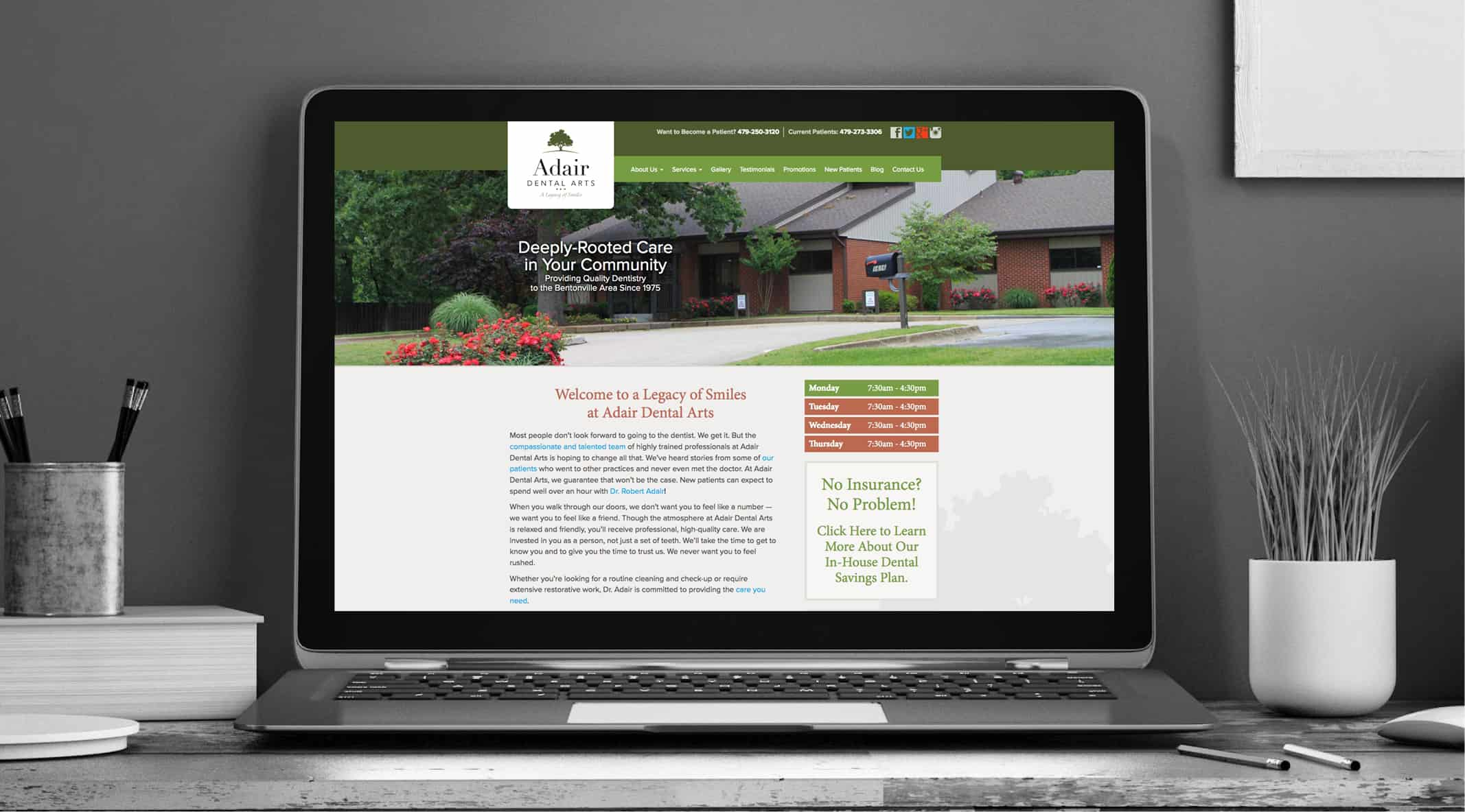 Adair Website