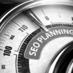 Dental SEO planning speedometer imagery black and white