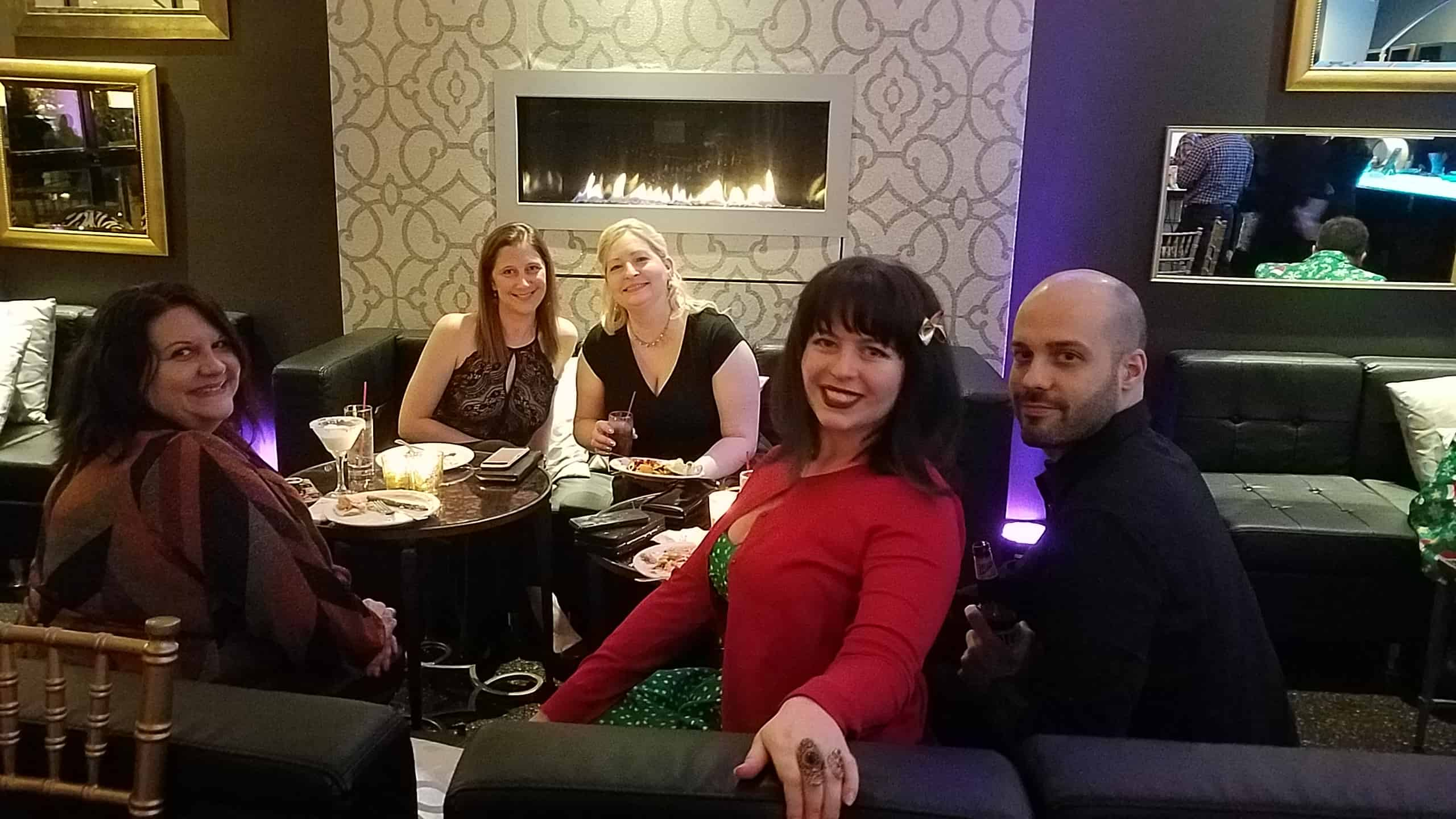 Team photo GPM Christmas party 2018
