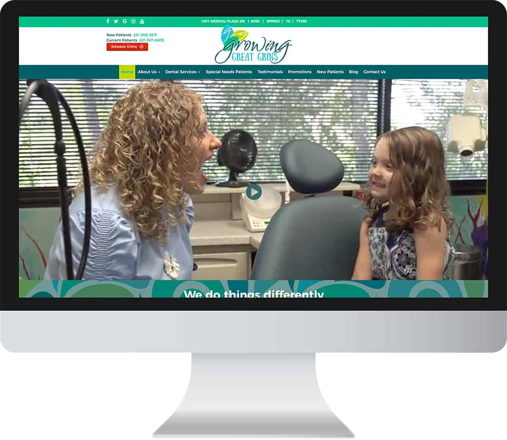 Custom Dental Websites
