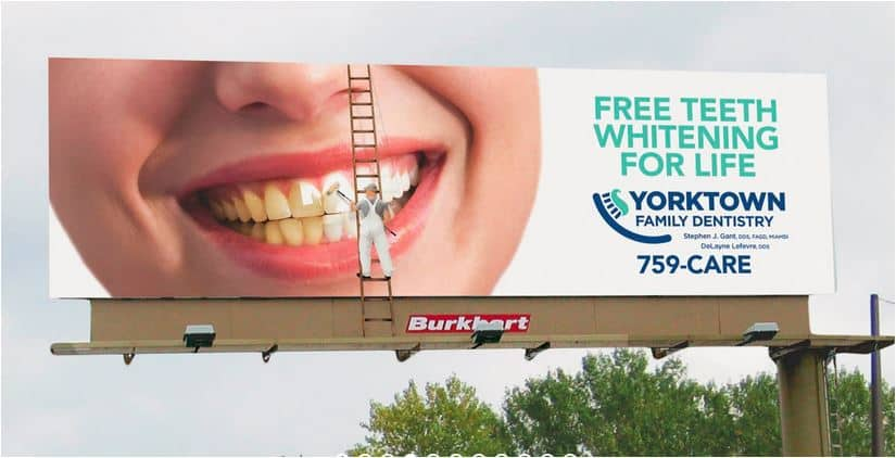 Yorktown billboard