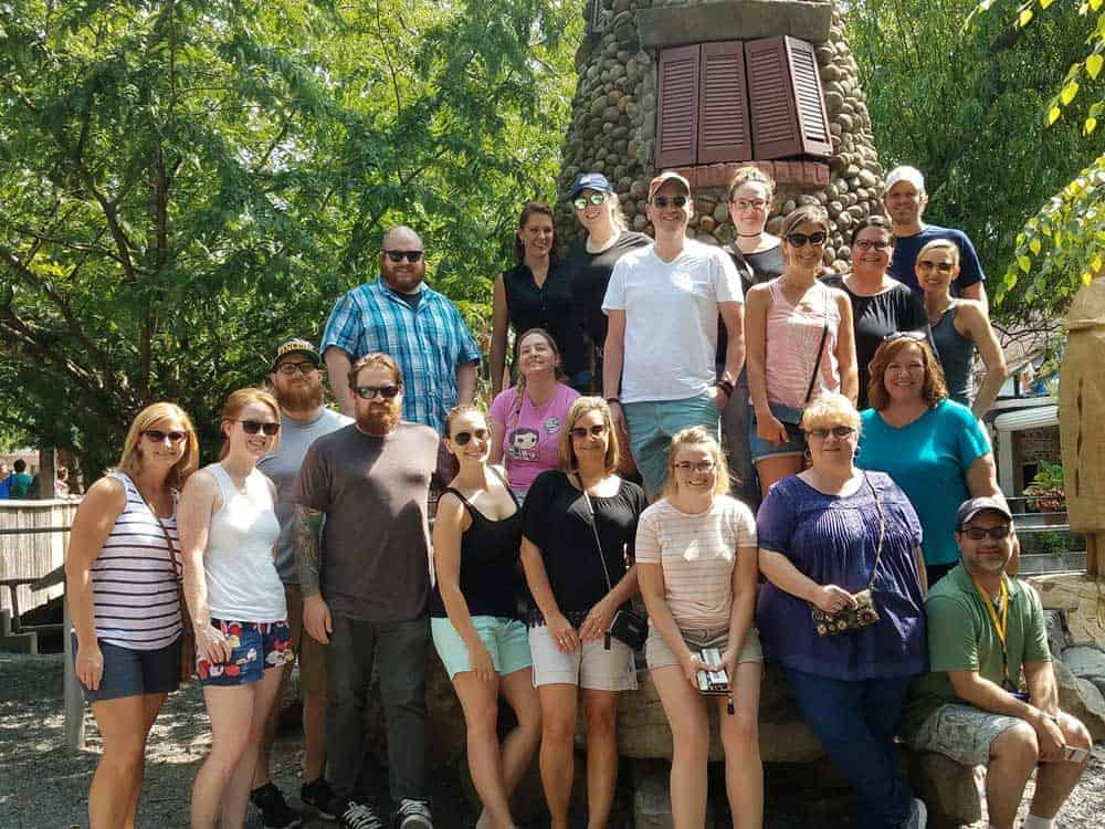 GPM Team photo at knoebels