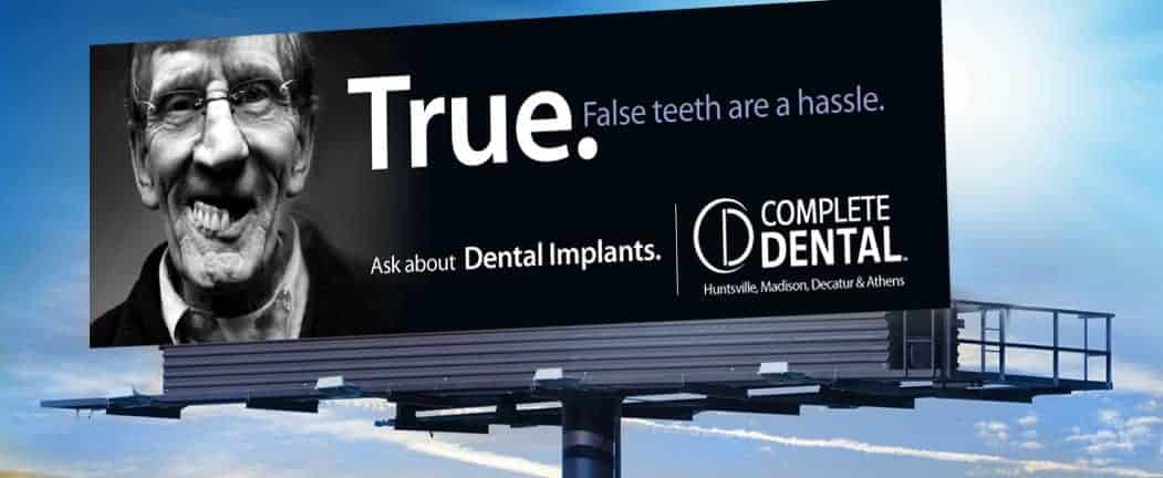 Complete Dental billboard