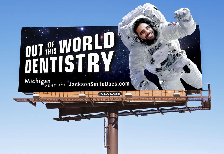 Michigan Dentists Billboard