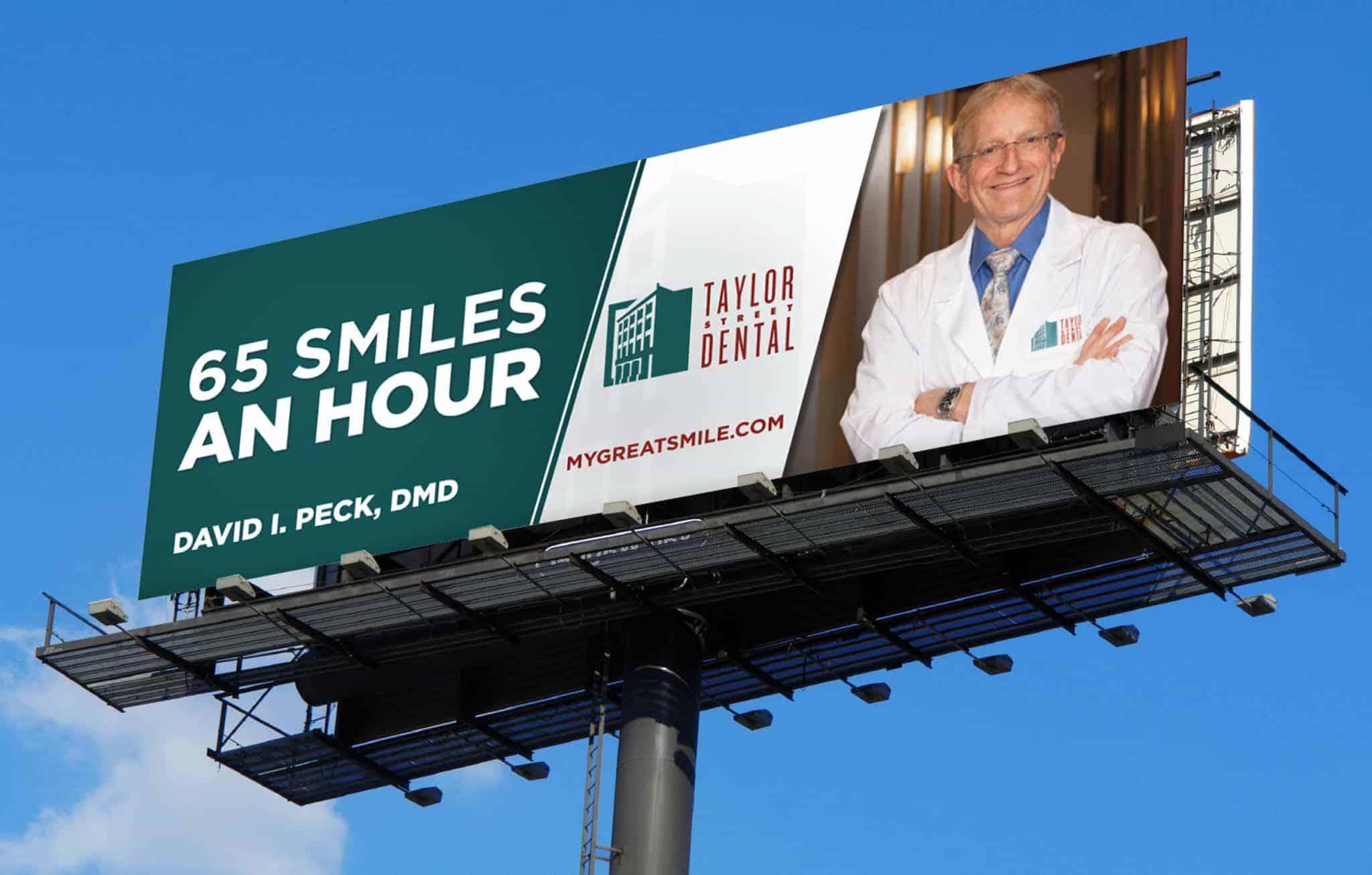 Taylor Dental Billboard